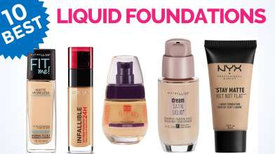 10 Best Liquid Foundations for you in India with Price - For All Skin Types