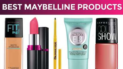 10 Best Maybelline Products in India with Price