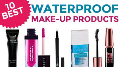 10 Best Waterproof Make-up Products in India - Holi Special