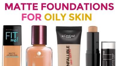 6 Best Matte Foundations for Oily Skin in India with Price