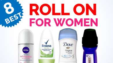 8 Best Underarm Roll On Deodorants - Anti Perspirant for Women in India with Price