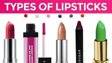 8 Types of Lipsticks for Daily use - Everything You Want to Know About Lipsticks