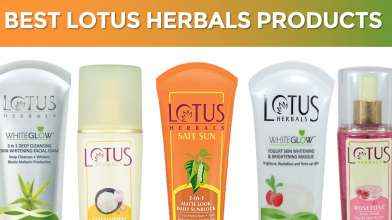 10 Best Lotus Herbals Beauty Products with Price - Herbal & Natural Skincare Products