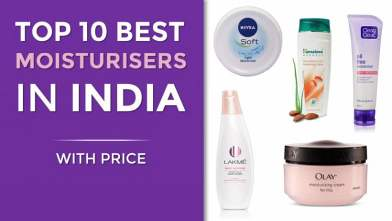 Top 10 Best Moisturisers in India with Price