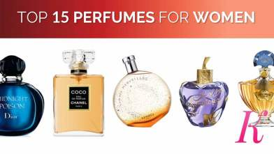 Top 15 Perfumes for Women in the World